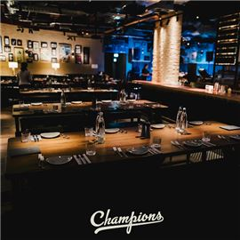 Champions Re-Opening Party