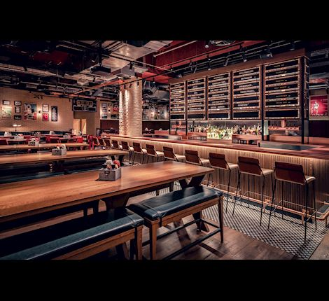 About Champions - The American Sports Bar & Restaurant